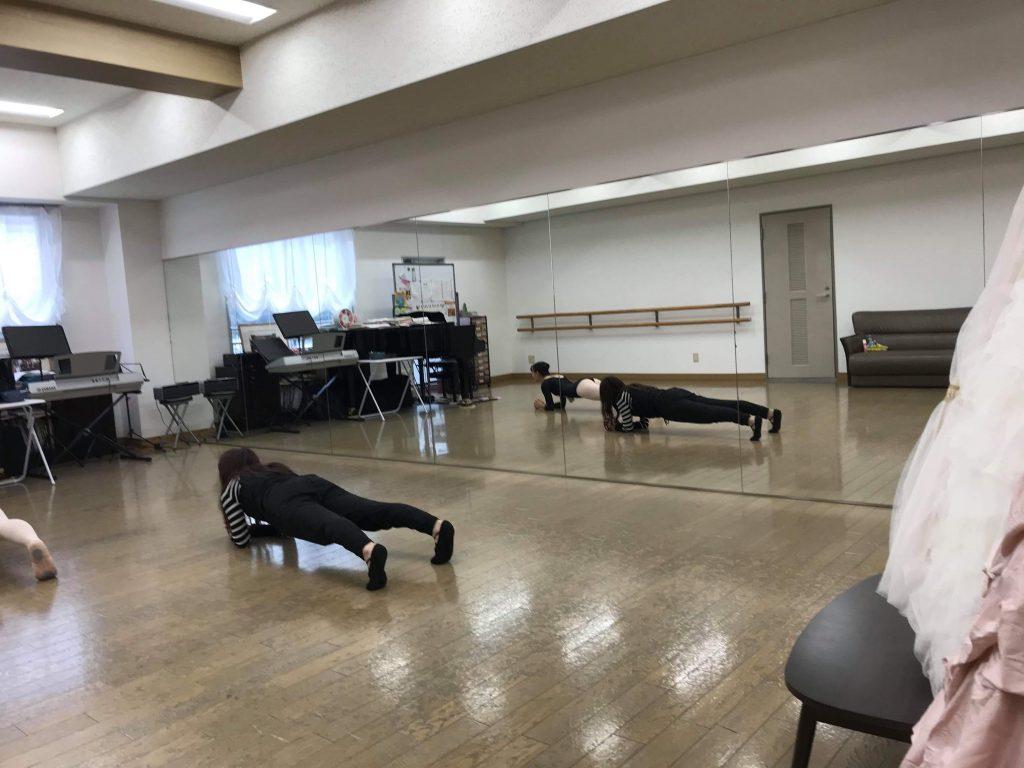 山口県宝塚受験スクール出張レッスン。ヨガスタジオグランディール講師式部いろは(しきぶいろは)元宝塚歌劇団星組