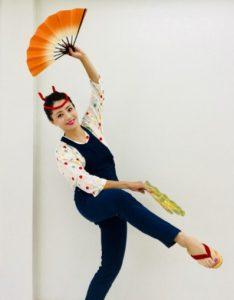 仙台すずめ踊り元宝塚歌劇団式部いろは(しきぶいろは)仙台市出身